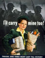 'I'll Carry Mine Too!' poster