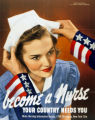 'Become A Nurse' poster