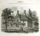 'Cottage in the English, or Rural Gothic Style' print