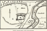 'Fort Sandusky and Environs' map