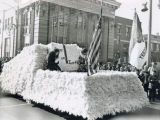Girl Scout parade float