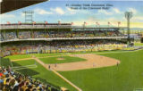 Crosley Field postcard