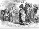 'Visit of Pontiac and the Indians to Major Gladwin' illustration