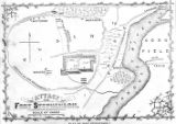 Attack on Fort Stephenson map