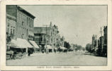 Celina North Main Street Postcard