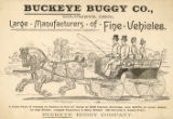 Buckeye Buggy Company advertisement