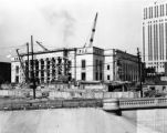 Columbus City Hall Under Construction Photograph