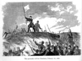 Surrender of Fort Donelson illustration