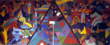 'New London Facets' mural painting