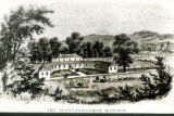 Blennerhassett Mansion drawing
