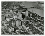 Aerial view of downtown Toledo photograph