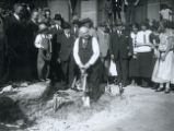 American Insurance Union Citadel groundbreaking ceremony photograph