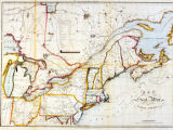 Map of the Seat of War in North America