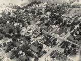 Aerial view of Bainbridge, Ohio, photograph