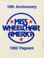 1982 Miss Wheelchair America Pageant program