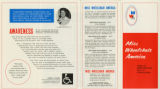 1975 Miss Wheelchair America brochure