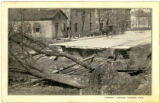 Chillicothe during 1913 flood photograph