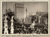 Cleveland Square during McKinley Funeral