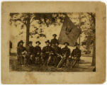 Alexander McDowell McCook and staff photograph