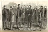 General Grant receiving commission print