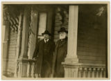 Theodore Roosevelt and Washington Gladden at Gladden home