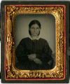 Unidentified woman tintype