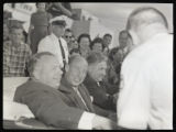 Michael Disalle, Adlai Stevenson and Frank Lausche photograph