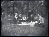 Group picnic photograph
