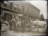 Draymen in Upper Sandusky photograph