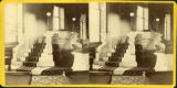 Speaker's desk at Ohio General Assembly stereograph