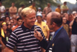 Jim Crum Interviewing Jack Nicklaus Photograph