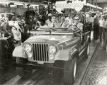 James Rhodes Driving 150,000th Jeep Photograph