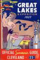 Great Lakes Exposition 1937 Souvenir Book