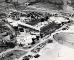 Ohio Historical Center construction aerial photographs