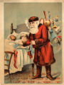 Santa Delivers Presents to Sleeping Children Advertisement