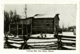Carding Mill, New Salem, Illinois Postcard