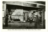 First Berry-Lincoln Store, New Salem State Park, Illinois Postcard