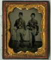 Two unidentified cavalrymen -- Photograph