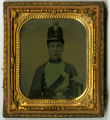 Unidentified Civil War Soldier with Shako -- Photograph