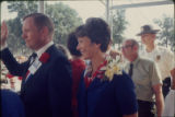 Neil Armstrong and wife Janet after 1969 moon landing