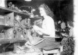 War Workers Making Boots