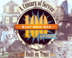 East Ohio Gas Company 100th Anniversary Logo