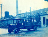 Jeffrey Mine Fans Loaded on a Truck