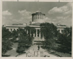 Ohio State Capitol - elevated view