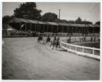 Harness racing in Burton, Ohio