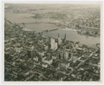 Aerial view of Toledo, Ohio