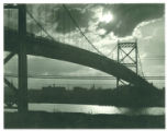 Anthony Wayne suspension bridge, Toledo, Ohio
