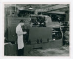 National Cash Register Company lathe operator