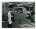 National Cash Register Company lathe