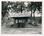 State Spring House in Boy Scout Woods photograph